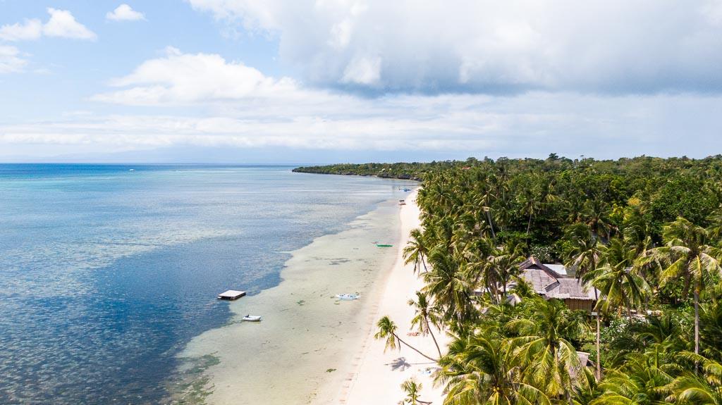Solangon Beach Drohne