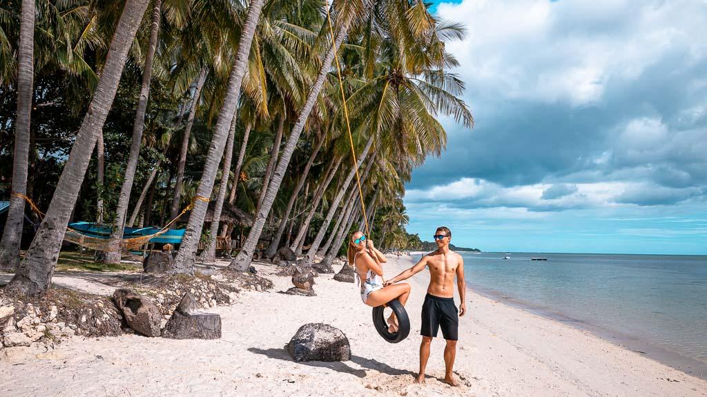 Schaukel Solangon Beach Siquijor