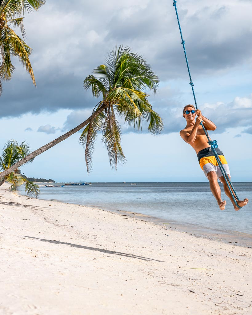 Swing Solangon Beach Siquijor Island