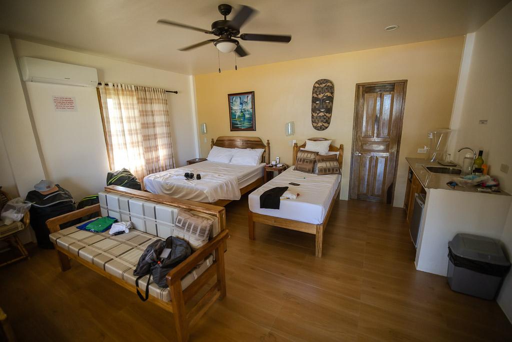 Zimmer im Eastwind Beach Club El Nido Unterkunft