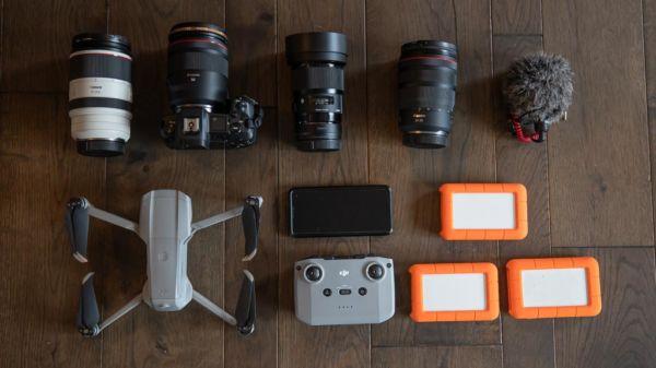 Weltreise Technik Kameras