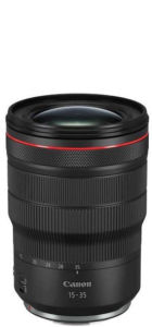 Canon RF 15-35mm F2.8 L Objektiv Life to go Weltreise Kamera