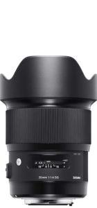 Sigma 20mm F1.4 DG HSM Art Objektiv Life to go Weltreise Kamera
