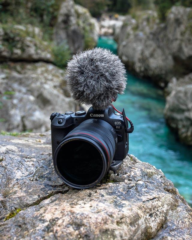 Canon EOS R6 Vlogging Setup