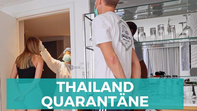 Bangkok Thailand Quarantäne ASQ