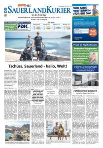 Onlinemedien Bericht über Life to go auf Sauerlandkurier.de